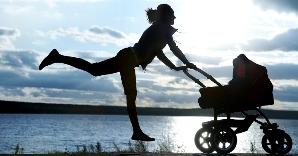 Exercício depois da gravidez - Lauroderme