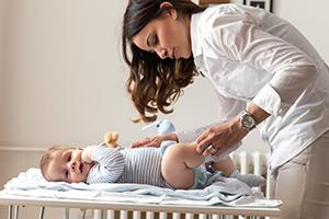 Um bebé sem dermatite das fraldas, é possível?